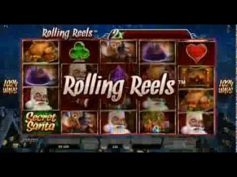 Secret Santa Online Slot | Royal Vegas Casino #Festive #christmas #santa