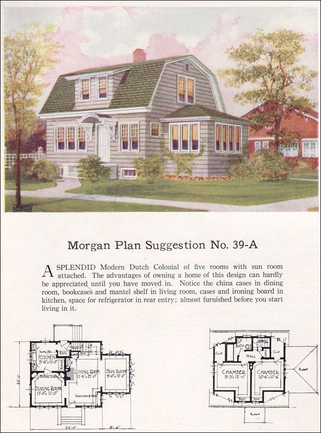 26 best design inspiration dutch colonial images on for Gambrel roof house plans