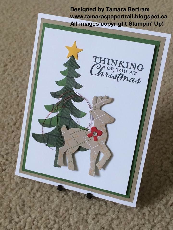 Happy Tuesday!   Ohhhhhh how I love making Christmas cards! I just couldn't STOP this weekend! I kept heeding to the Craft Cave with the i...