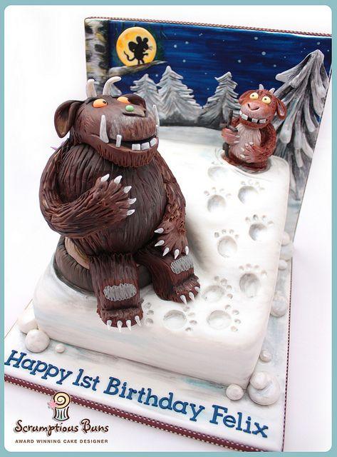Cake Scene : Gruffalo's Child | Flickr: Intercambio de fotos