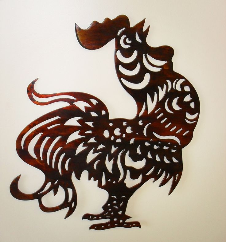 Chicken And Rooster Decor Part - 45: Artsy Rooster
