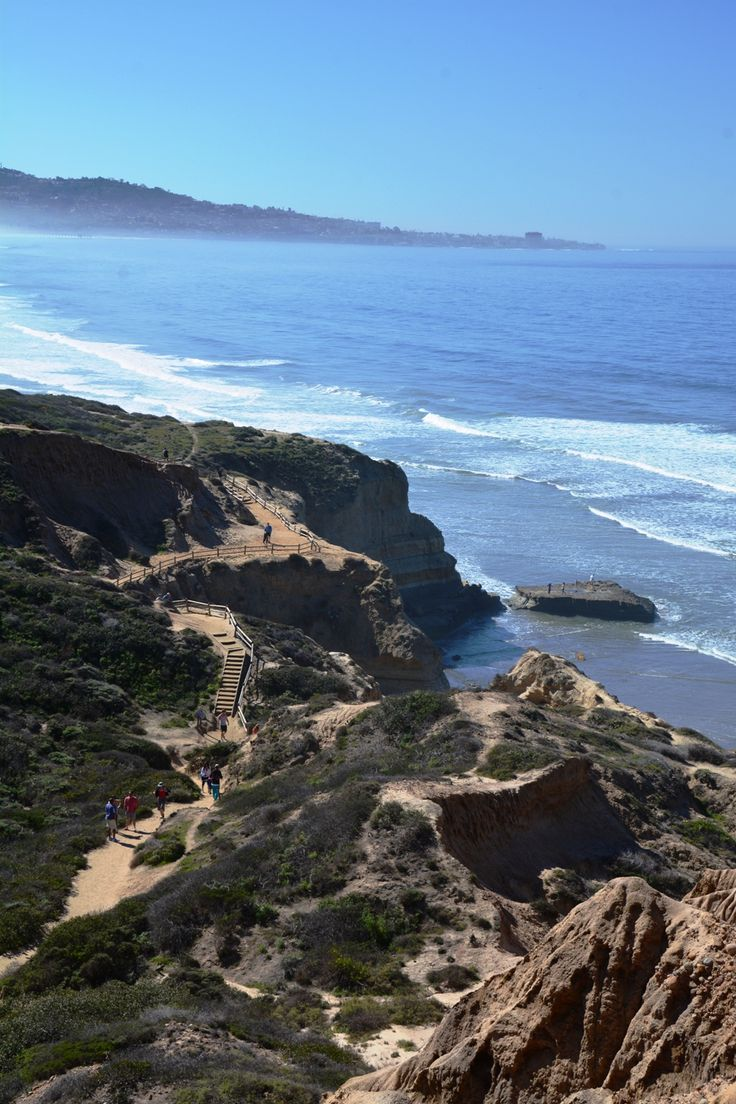 Torrey Pines Hike, San Diego California