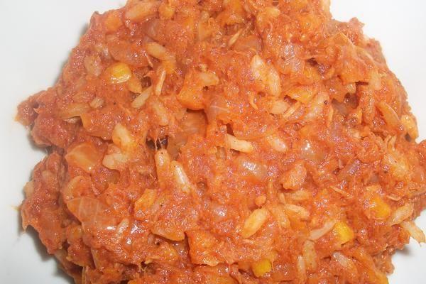 Paprykarz szczeciński  z tuńczyka kalorie. Ile kalorii ma Paprykarz szczeciński  z tuńczyka?