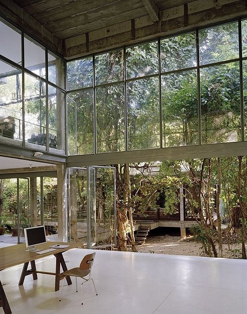 499 best glass houses images on pinterest contemporary for Glass garden office