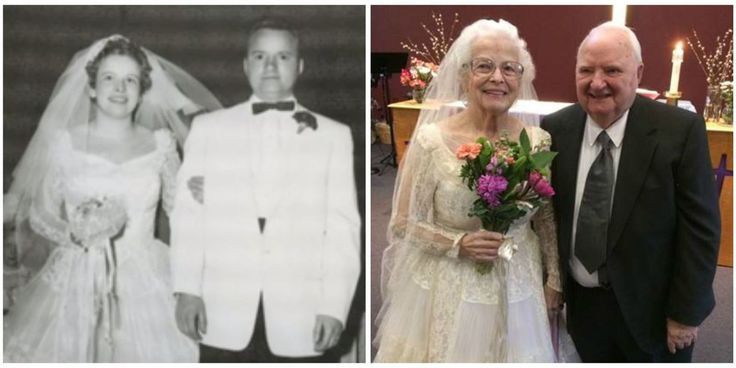 What a couple who has been married for 60 years can teach everyone about #truelove. #marriage #happiness #weddings http://www.goodhousekeeping.com/life/relationships/news/a43246/wedding-dress-spans-generations/?utm_sq=fdvulmszc2&utm_source=Facebook&utm_medium=social&utm_campaign=Harborview%20Studios&utm_content=Tips