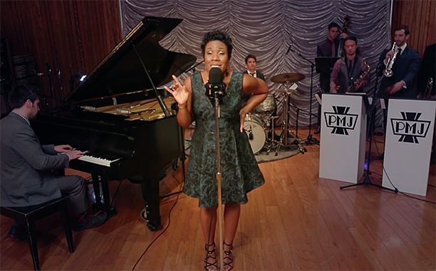"""Melinda Doolittle on PMJ! [youtube http://youtu.be/ZILsHowUjpQ pushTop]  Postmodern JukeboxhavesentMelinda Doolittle on a ride.  The web's favorite cover bandenlisted theAmerican Idolalum for a 1930s-inspired take on Britney Spears' modern classic, """"Toxic."""" The cover comes from their latest albumSquad Goals, out now."""