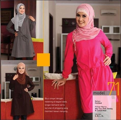 Qirani Q71 IDR 150 Abu Tua, Coklat Kopi, Pink Terang