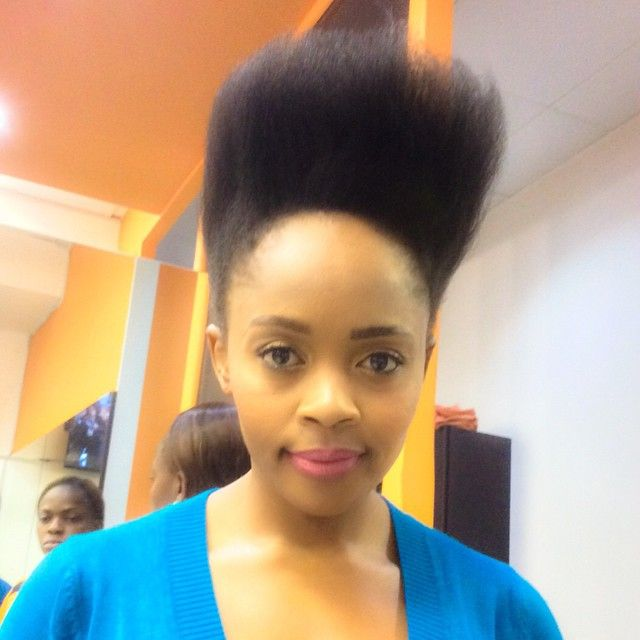 We love Thembi's natural hair
