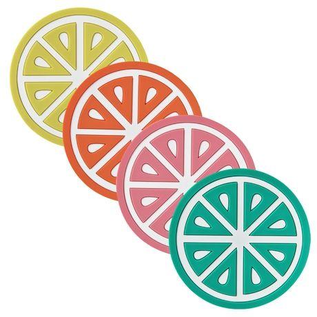 Citrus Coasters Set of 4 | Freedom Furniture and Homewares $9.95 #freedomaustralia #christmas