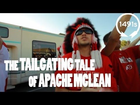 The Tailgaiting Tale of Apache McLean and the Utah Utes - YouTube