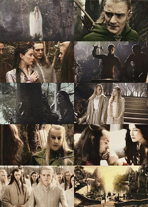 "THe Lord of the Rings Elves. ""Three were given to the Elves: immortal, wisest, and fairest of all beings."""