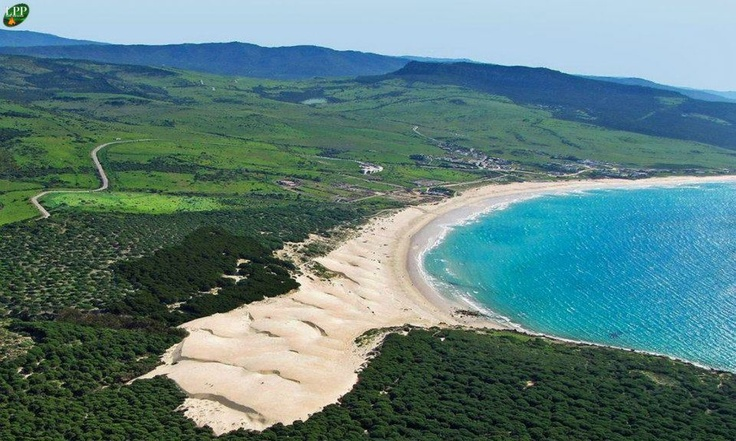 Playa de Bolonia in Tarifa, Spain, 160km south of Malaga ...
