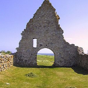 Ruin of an old Chapel, Isle of Oland, Sweden