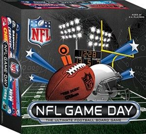 NFL Game Day Board Game This is great if you have a  football fanatic son or even daughter. The ball is magnetic, so it sticks to the board. It's easy to learn to play.  http://awsomegadgetsandtoysforgirlsandboys.com/cool-gadgets-for-teenage-guys/ Cool Gadgets For Teenage Guys: NFL Game Day Board Game