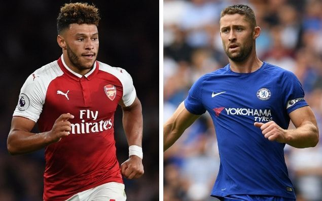 Chelsea tell Alex Oxlade-Chamberlain to use Gary Cahill as inspiration as they look to push through £35m transfer