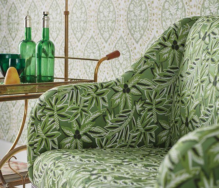 Nina Campbell Claribel fabrics are by the renowned