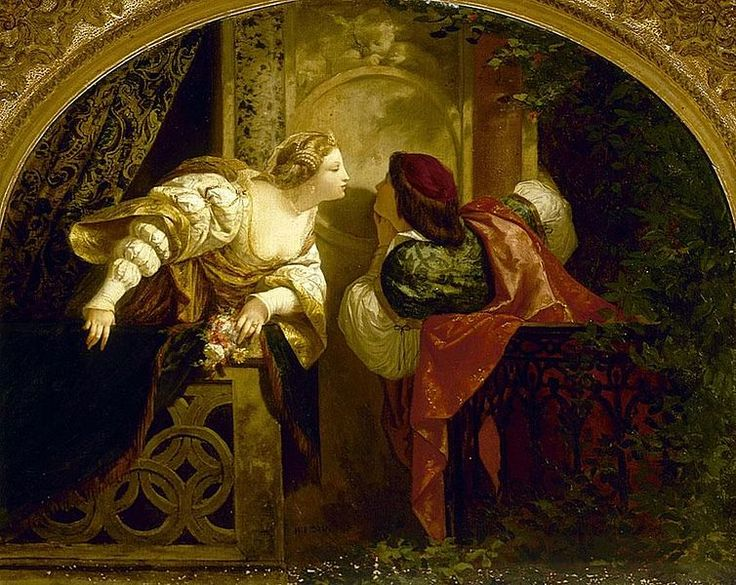 Romeo and Juliet by Henri Pierre Picou