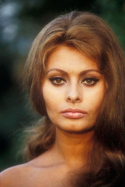 Sofía Loren. Una de las más grandes actrices italiana.
