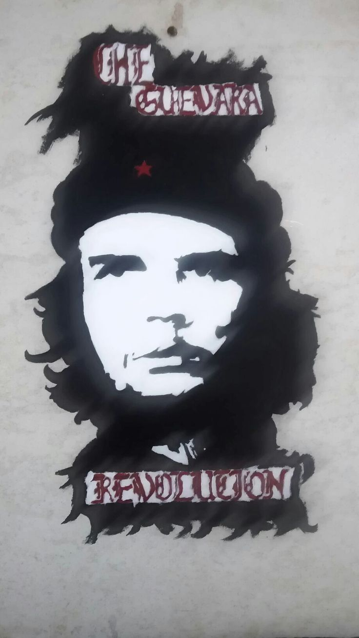My own typer guevara the icon my idol By artneo