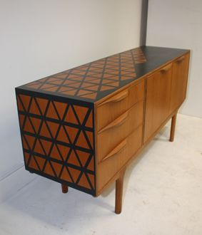 Sold pieces of upcycled furniture from the Trash collection