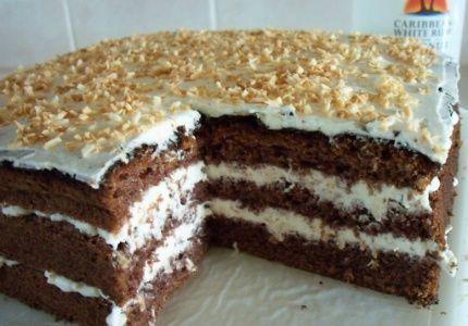 Przepisy na ciasta i desery - Mojeciasto.pl » Tort kokosowy Bounty