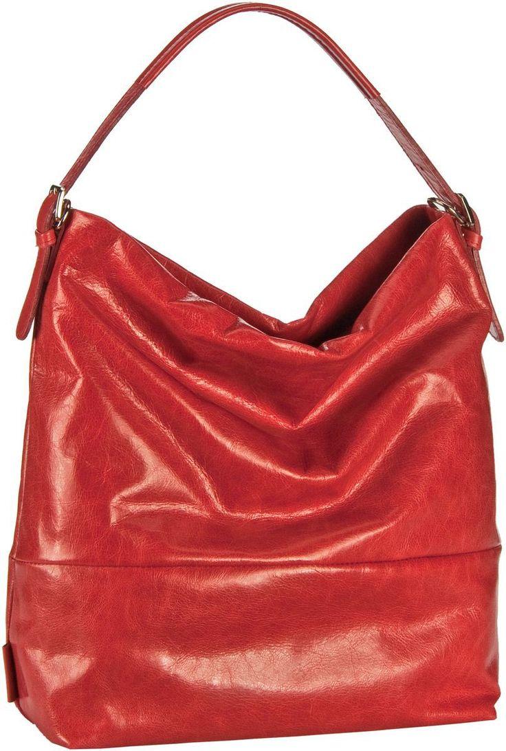Jost Toronto 1092 Handtasche FS Rot - Beuteltasche