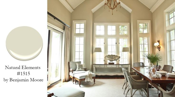 Natural Elements By Benjamin Moore This Is A Creamy