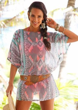 Tunika s etno vzorem, s.Oliver #avendro #avendrocz #avendro_cz #fashion #summer #partyoutfit