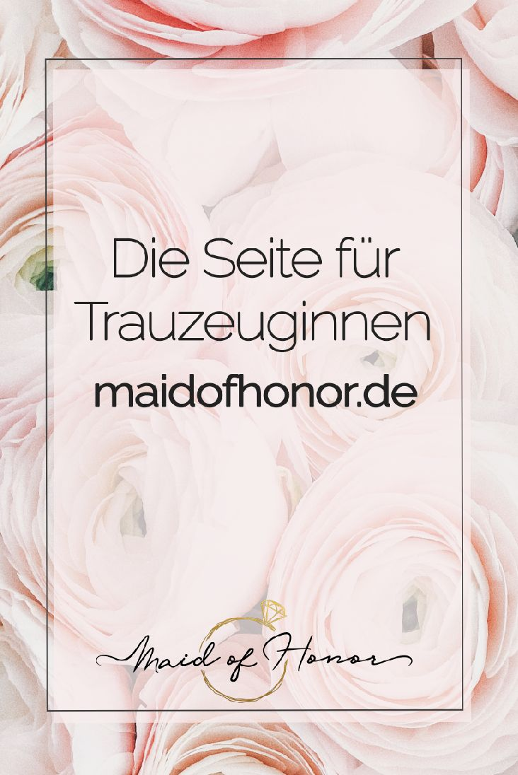 Maid of Honor takes you in your time as a maid of honor at hand and gives you plenty of tips and inspiration away from hackneyed classics ...