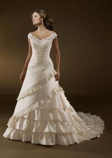 Svadobné šaty B2011