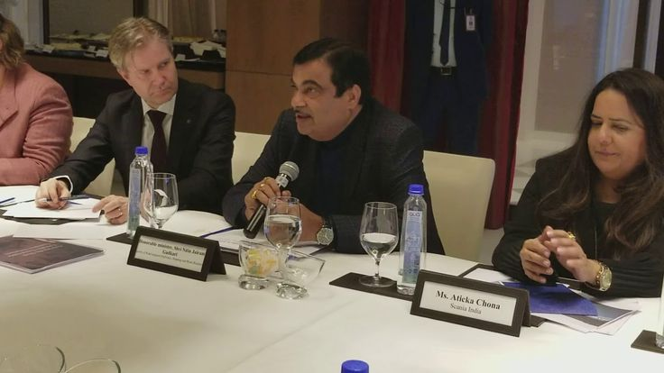 Nitin Gadkar :Round table discussion on  Driving the shift towards Sustainable Transport Solutions