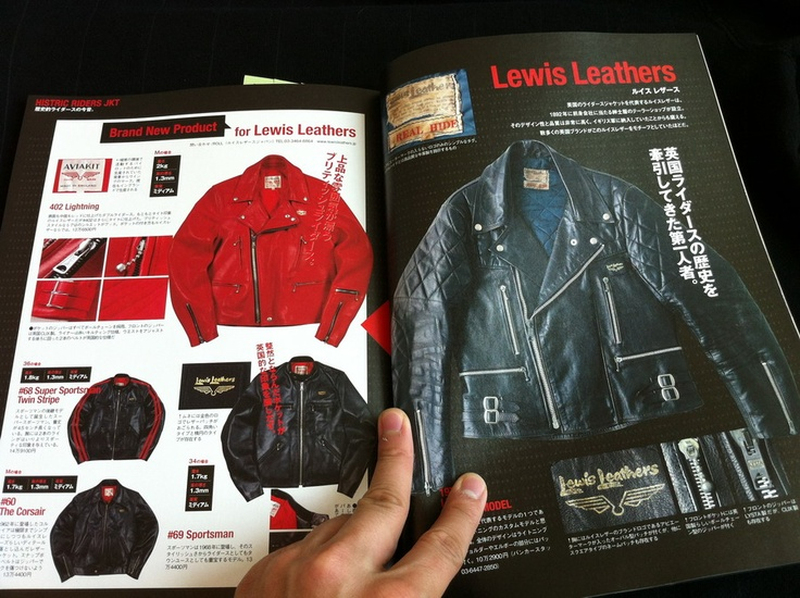 Lightning Magazine pages | Lewis Leathers