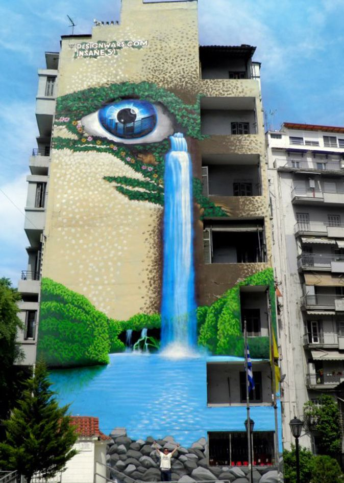 street art, Thessaloniki, Greece