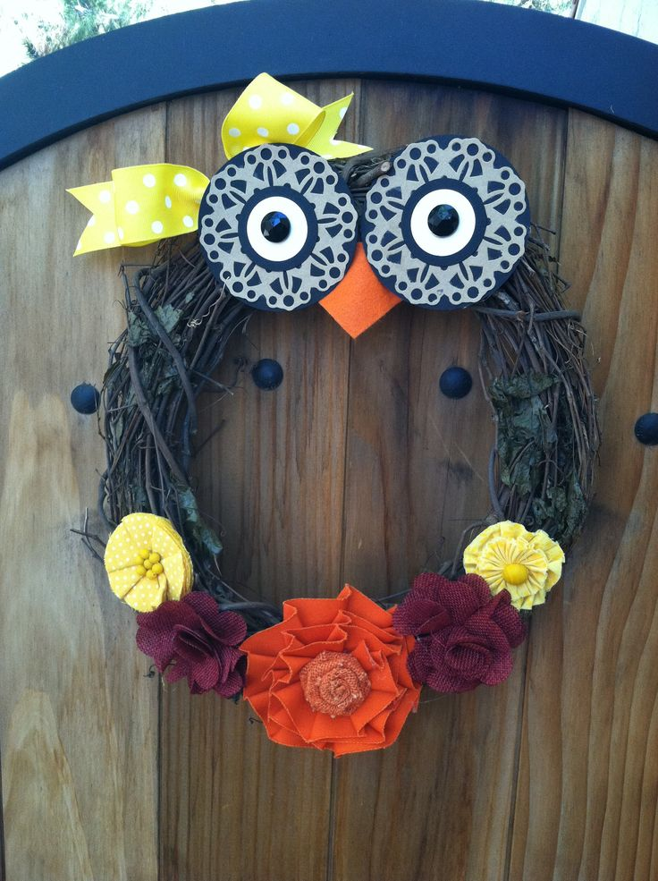 1751 best images about wreaths on pinterest yarn wreaths for Craft wreaths for sale