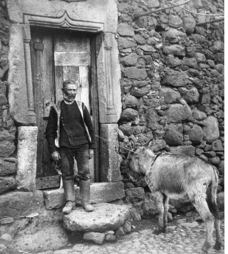 August Sander, Abbasanta, primo novecento.