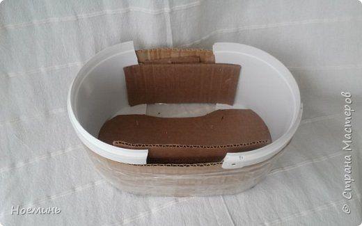 Шкатулка рукодельницы  фото 10 Форма для плетения овальной шкатулки