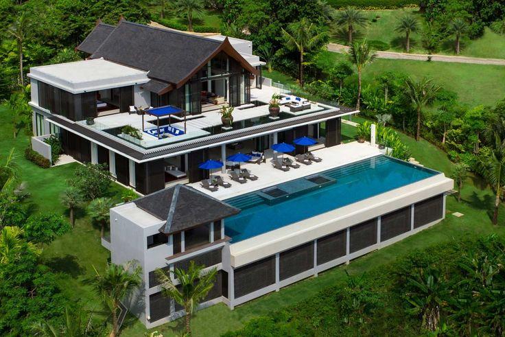 Villa Padma, Cape Yamu on Phuket, Thailand