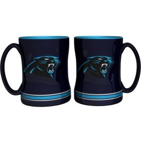 Boelter Carolina Panthers Relief 14oz Coffee Mug 2-Pack | DICK'S Sporting Goods