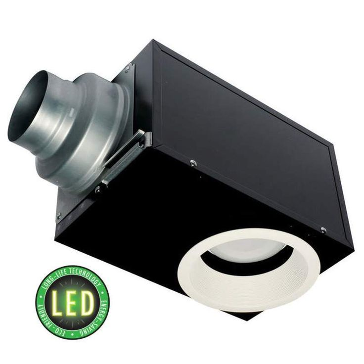View the Panasonic FV-08VRE1 WhisperRecessed 80 CFM 0.8 Sone Recessed Energy Star Rated Bath Fan and Dimmable LED Light with 4 or 6 Inch Adaptable Ducting at Build.com.