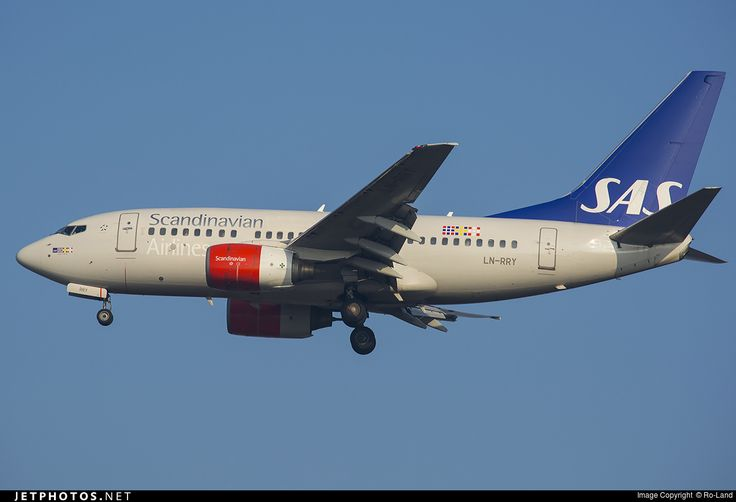 High quality photo of LN-RRY (CN: 28297) Scandinavian Airlines (SAS) Boeing 737-683