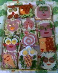 breakfast for children... sooo creative :)