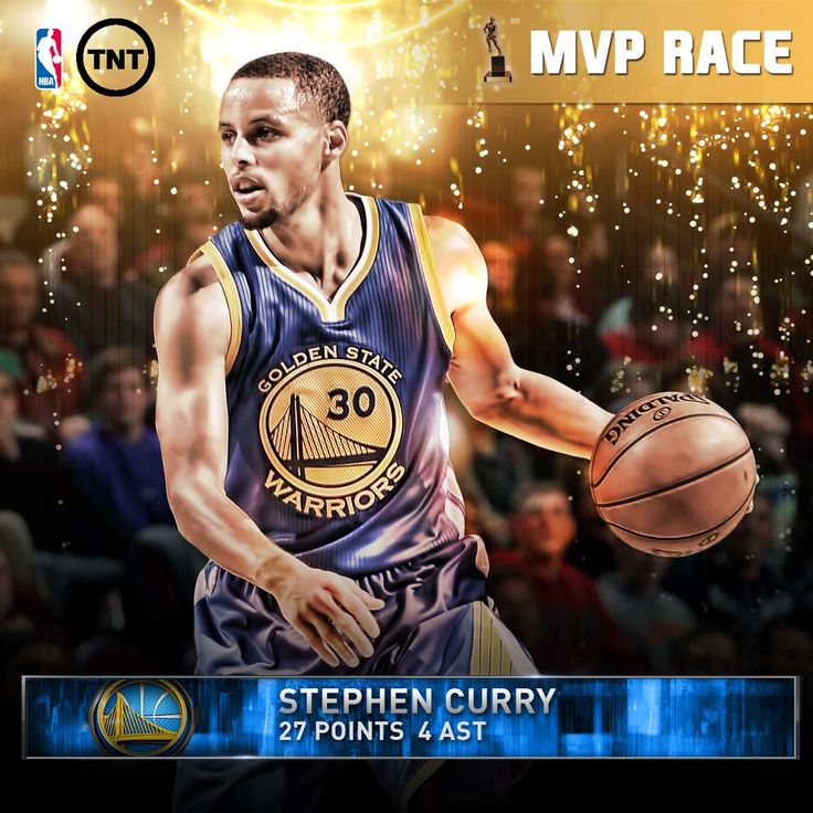 MVP Race: Just another day at the office for @StephenCurry30! 10th win in a row for the @warriors!
