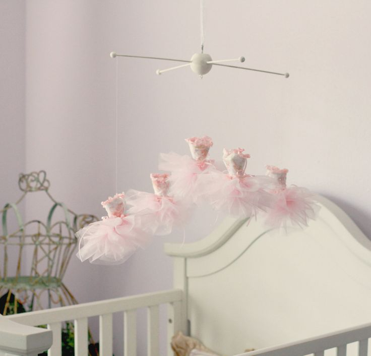 Best 25 ballerina nursery ideas on pinterest ballerina for Princess crib mobile