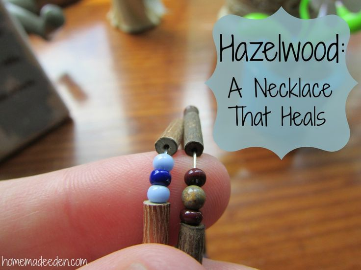 Hazelwood: A Necklace That Heals Amber not working for your teething baby? Consider Hazelwood, especially if other symptoms of acidity are present!