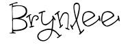 Brynlee girls name