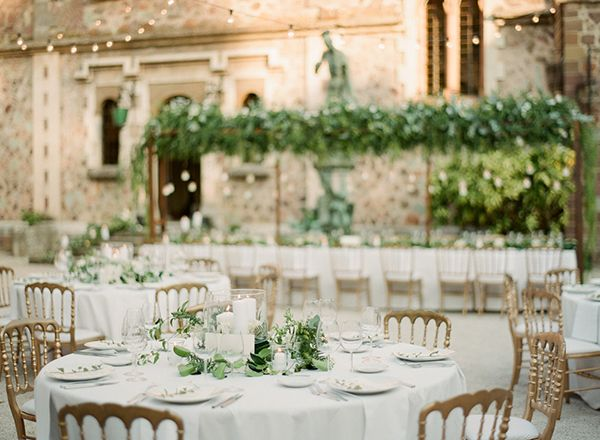 France destination wedding venues - photo by Greg Finck http://ruffledblog.com/must-see-sophisticated-chateau-wedding-in-cannes
