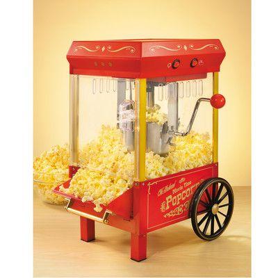Nostalgia Electrics 2 oz Old Fashioned Kettle Popcorn Maker | Wayfair
