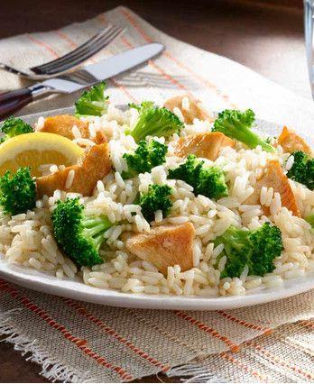 One Pot Lemony Broccoli Chicken Rice http://wm13.walmart.com/Cook/Recipes/67950/