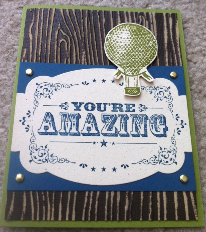Your Amazing: You're Amazing By Stampin Up - Google Search