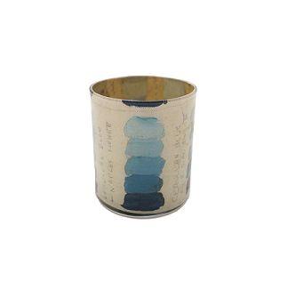 John Derian Blue Tones Desk Cup / BLUE TREE